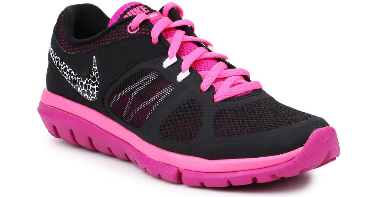 0eb99e96df92 Nike Training Shoes Flex 2014 Rn Msl 642780-016 Women s Sports Trainers  (shoes) In Black in Black - Lyst