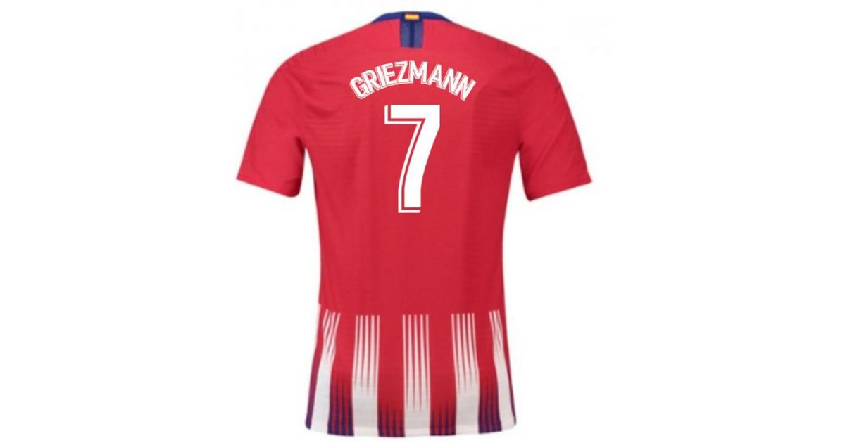 9f708cb139 Nike - Red 2018-2019 Atletico Madrid Authentic Vapor Match Home Shirt (grie  Men's T Shirt In Other for Men - Lyst