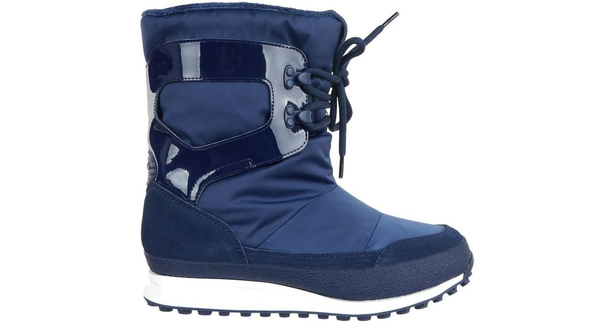 adidas Snowrush Women s Snow Boots In Multicolour in Blue - Lyst ce4b717a53