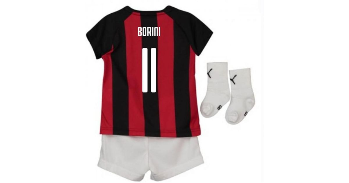 first rate 84781 25916 PUMA - Red 2018-2019 Ac Milan Home Baby Kit (borini 11) Women's In Other  for Men - Lyst