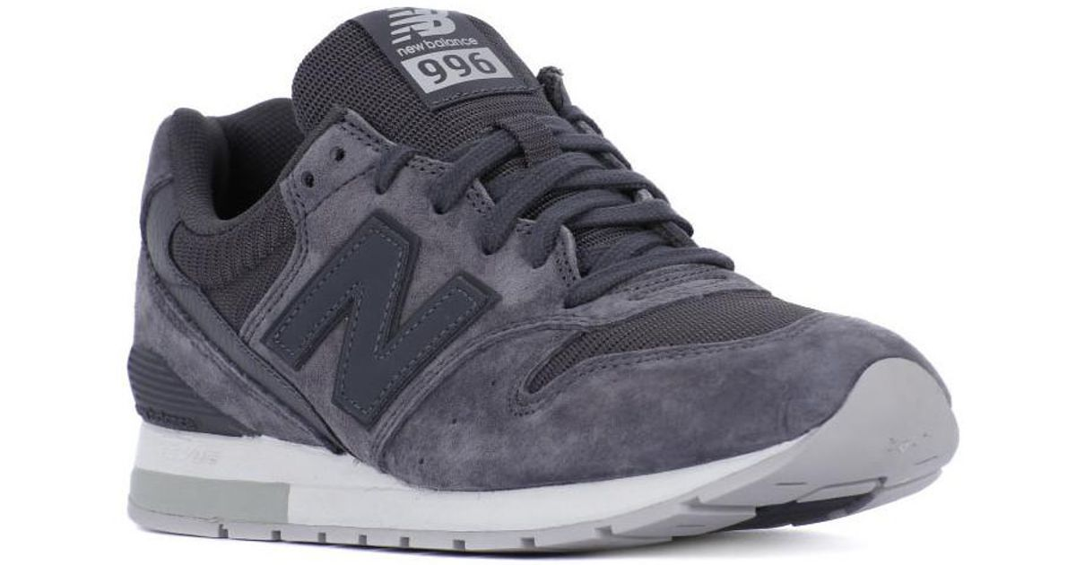 new concept 07c5c abbe9 New Balance - Gray Mrl996 Pg Men's Shoes (trainers) In Grey for Men - Lyst