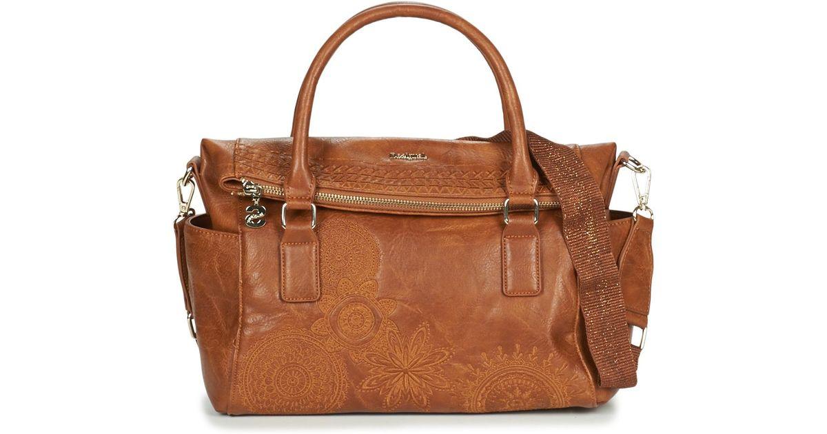 99f1ee3094c Desigual Dark Amber Loverty Women s Handbags In Brown in Brown for Men -  Lyst