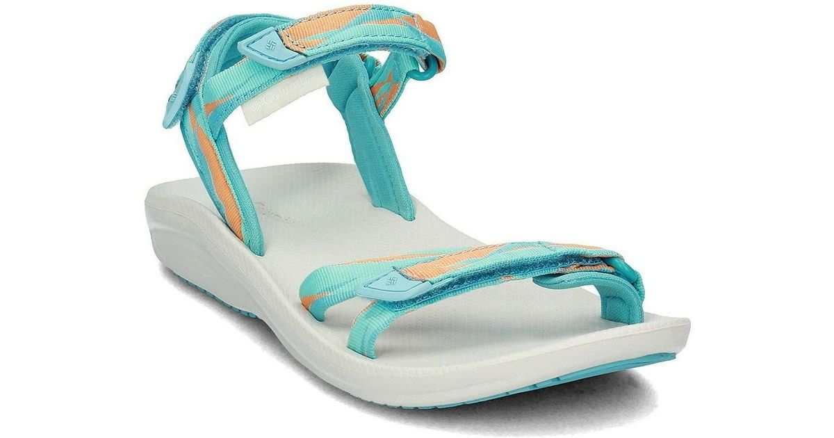 40e7fd59c10 Columbia Big Water Women s Sandals In Multicolour in Blue - Lyst