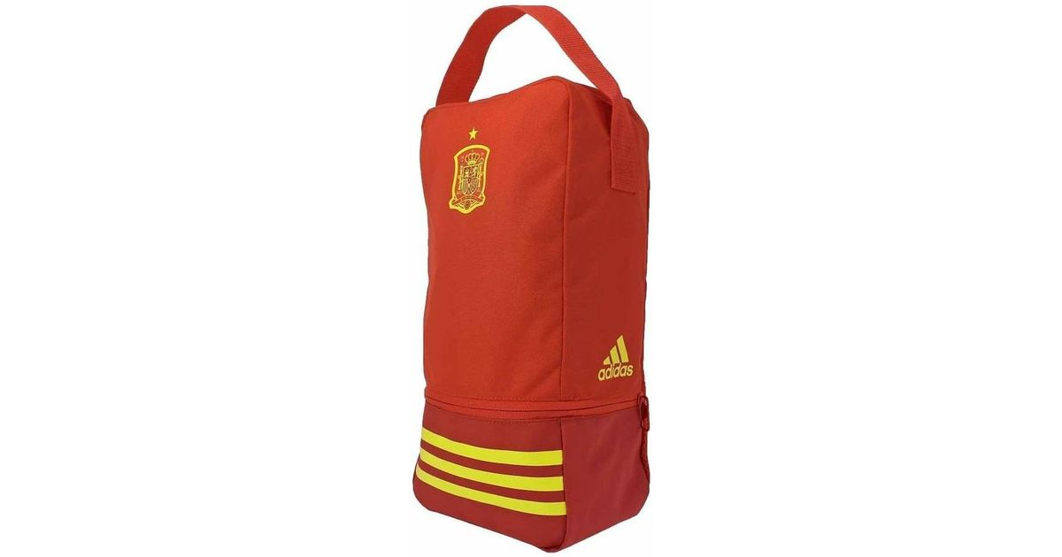 separation shoes 99a4d 21fcd adidas 2018-2019 Spain Shoe Bag Men s In Red in Red for Men - Lyst