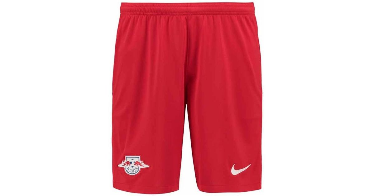 Nike 2017-2018 Bull Leipzig Home Shorts Women s Shorts In Red in Red - Lyst dad5e3682c1