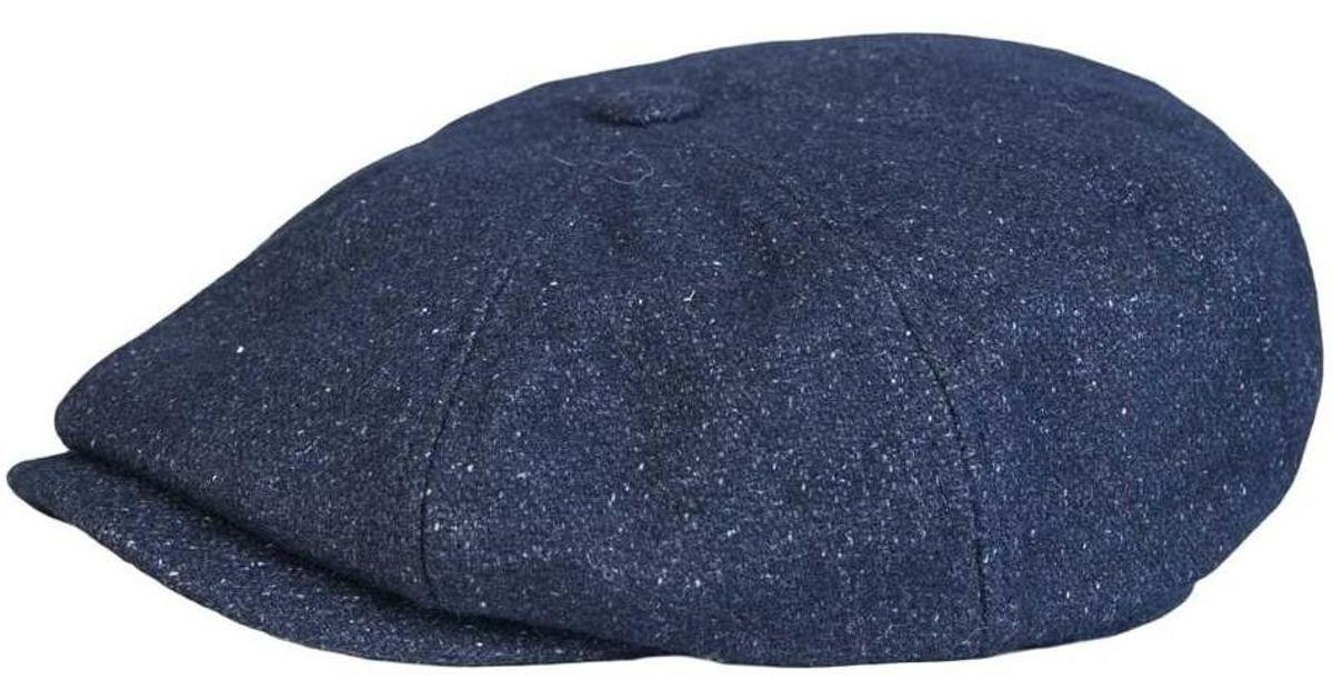 28fd2a15cc5 Ted Baker Flat Cap Xa7m Xn22 Gladstn Men s Beanie In Blue in Blue for Men -  Lyst