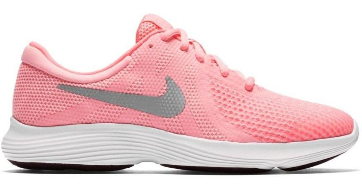 5af1a0ec07a8 Nike Girls  Revolution 4 (gs) Running Shoe 943306 600 Women s Running  Trainers In Pink in Pink - Lyst