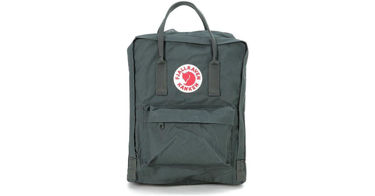 913848b2a4 Fjallraven Zaino Kånken By Verde Foresta Men's Backpack In Green in Green  for Men - Lyst