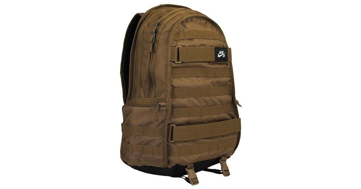 eb7a45af00aa Nike Sb Rpm Skateboard Rucksack Men s Backpack In Black in Black for Men -  Lyst