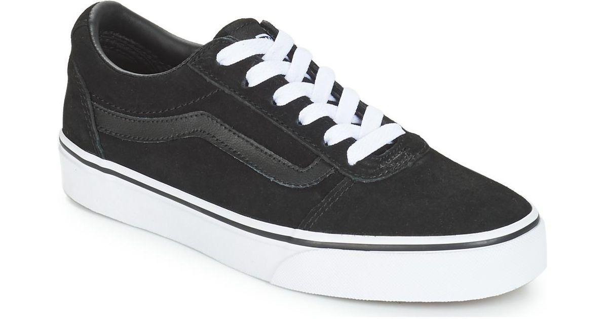5410cfc446 Vwm Smart Lyst Vans In Shoes Formal Ward Women s Black yNOwvm08nP