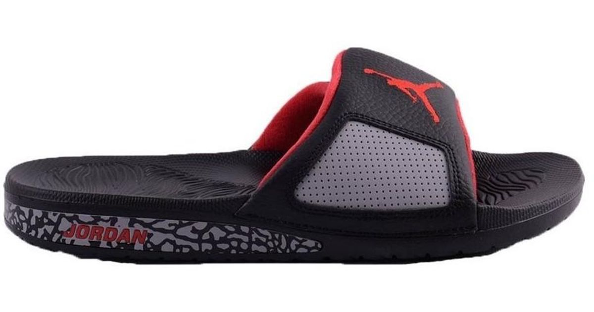 0cd89a0f80493 Nike Air Jordan Hydro Iii Retro Men s Sandals In Black in Black for Men -  Lyst