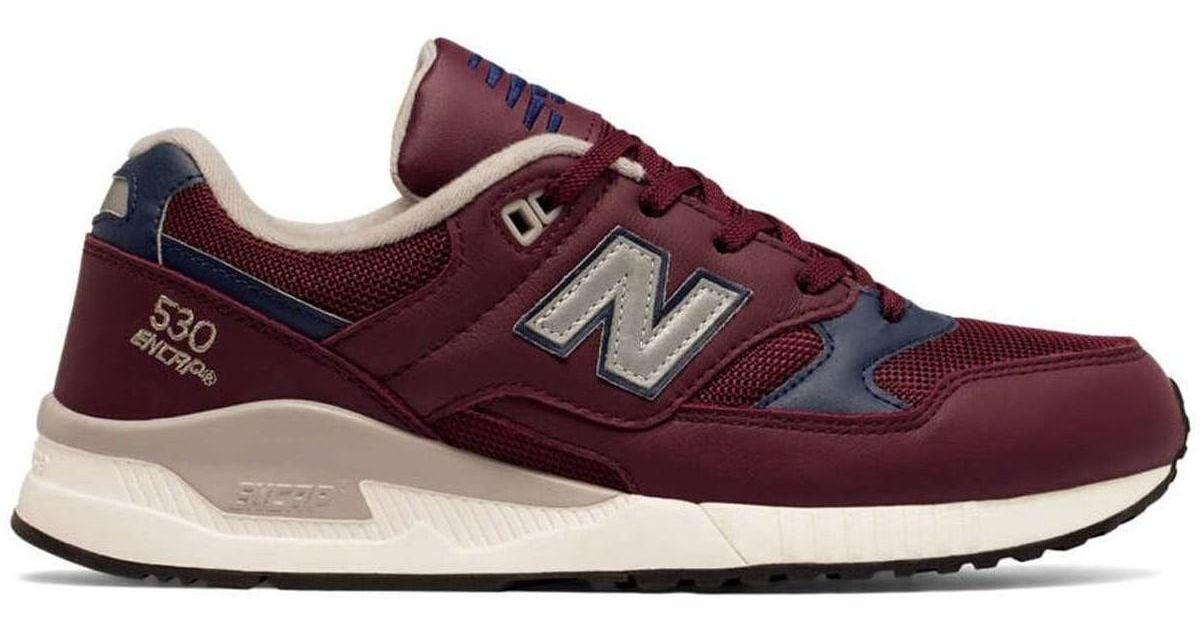 en soldes c4217 ba773 New Balance - Nbm530lgc Sport Shoes Man Bordeaux Men's Trainers In Red for  Men - Lyst
