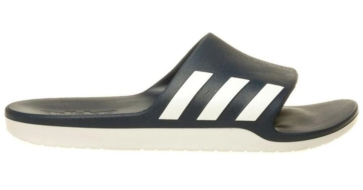 pretty nice 480ca 227ad ... usa cheap sale Adidas Aqualette Cf Men s Mules Casual Shoes In White in  White for ...