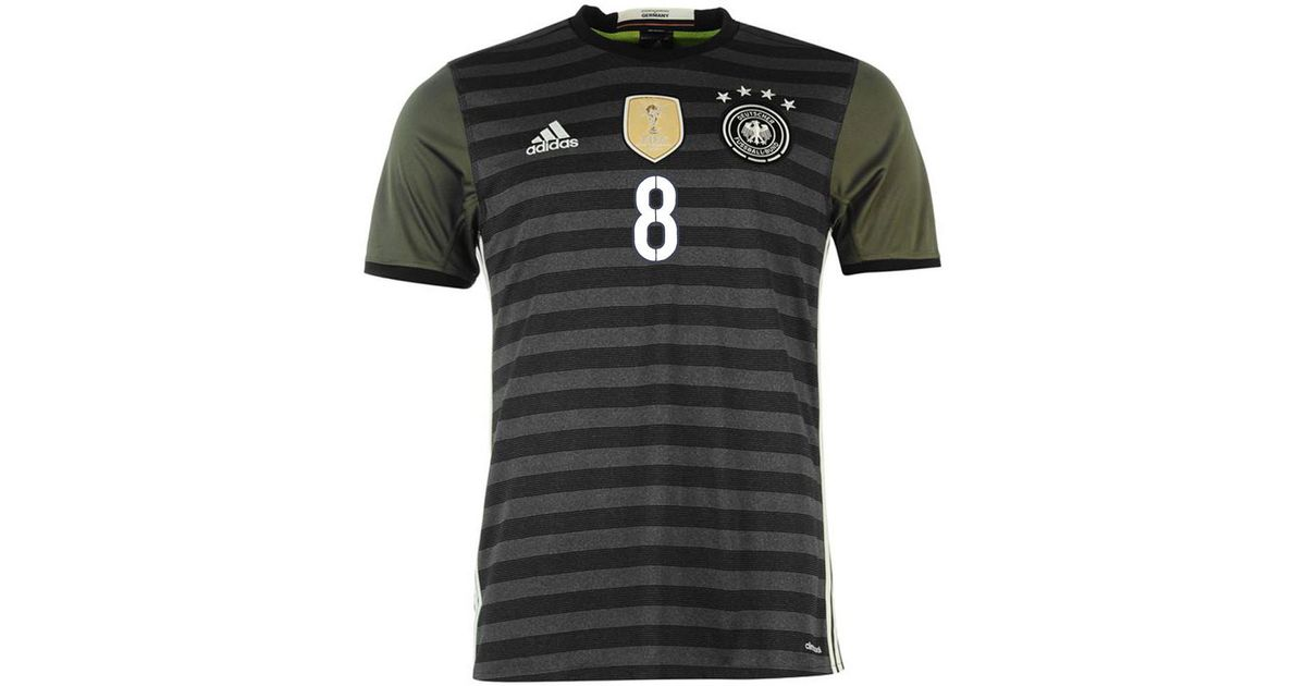 72902f248 Adidas 2016-2017 Germany Away Shirt (ozil 8) Women s T Shirt In Grey in  Gray for Men - Lyst