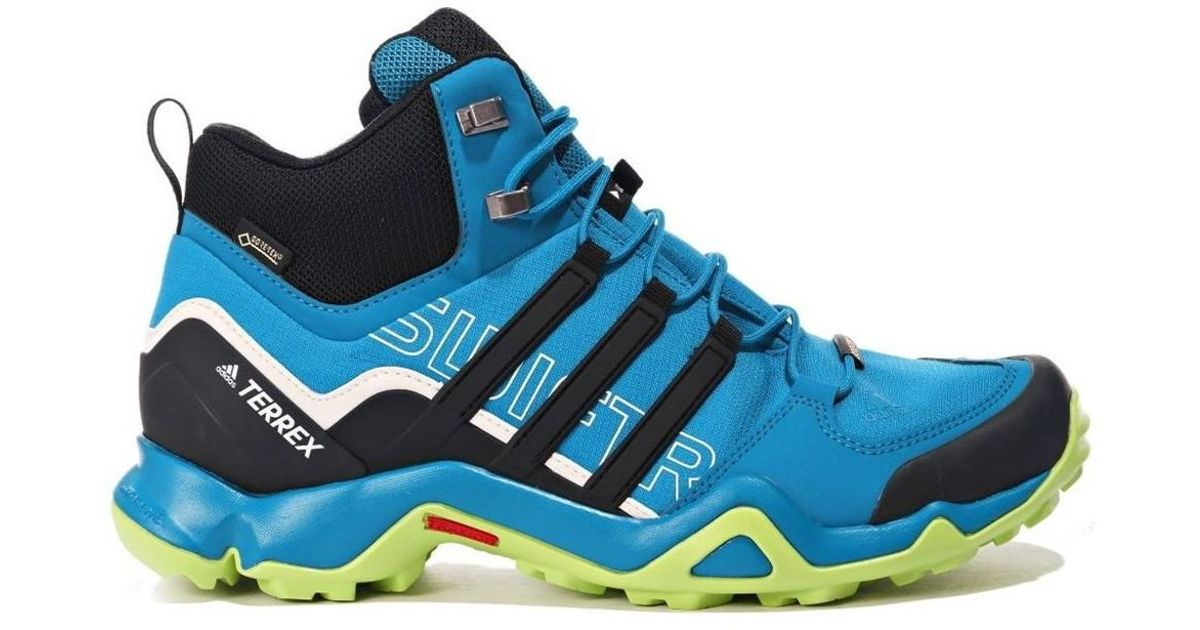 cab4cbe0baf Adidas - Terrex Swift R Mid Gtx Men's Shoes (high-top Trainers) In Blue for  Men - Lyst