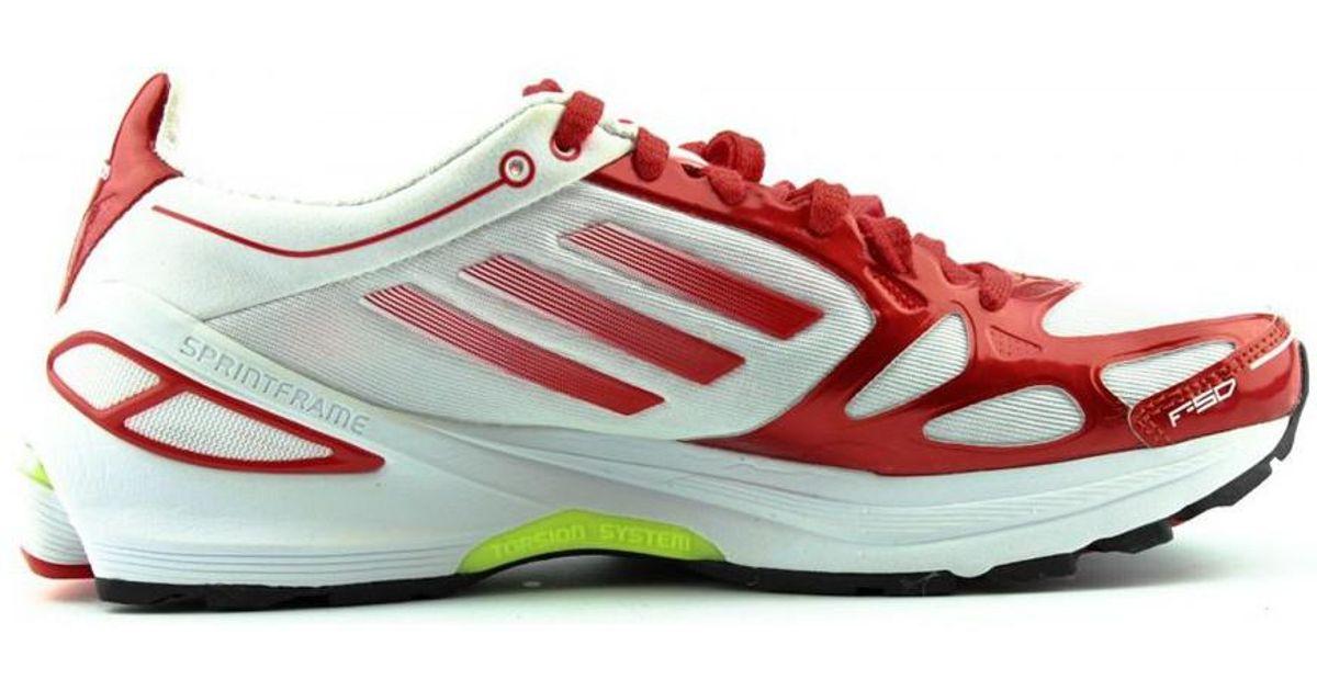 Adidas Adizero 19995 F50 2 W Zapatillas de rojo running para en mujer en rojo en rojo Lyst 56e30f6 - grind.website