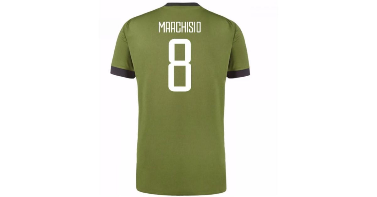 d8560ada8 Adidas 2017-18 Juventus Third Shirt (marchisio 8) - Kids Women s T Shirt In  Green in Green - Lyst