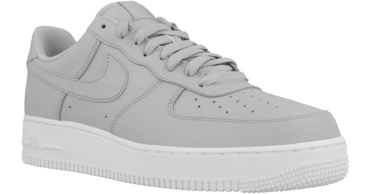 timeless design aabbc 0bd54 Nike Air Force 1 07 Men s Shoes (trainers) In Grey in Gray for Men - Lyst
