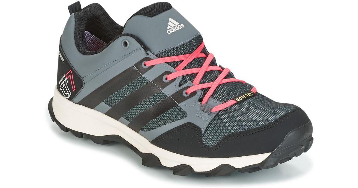 adidas Kanadia 7 Tr Gtx W Women's Running Trainers In Grey ...