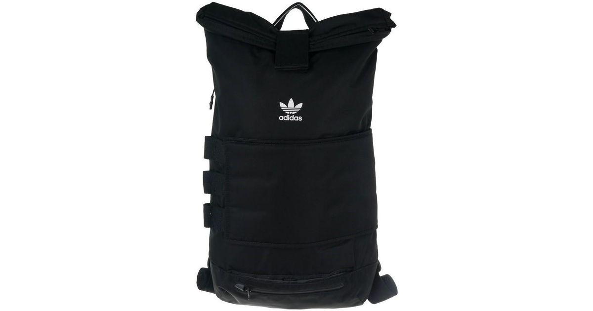 adidas Rollup Backpack Men s Backpack In Black in Black for Men - Lyst db1e4c9837702