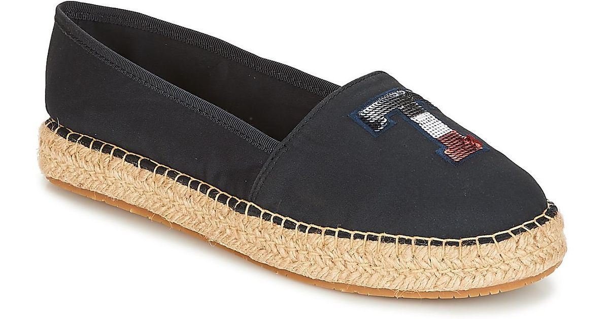 725bec7696c477 Tommy Hilfiger Int Sammy 17 Women s Espadrilles   Casual Shoes In Blue in  Blue - Lyst