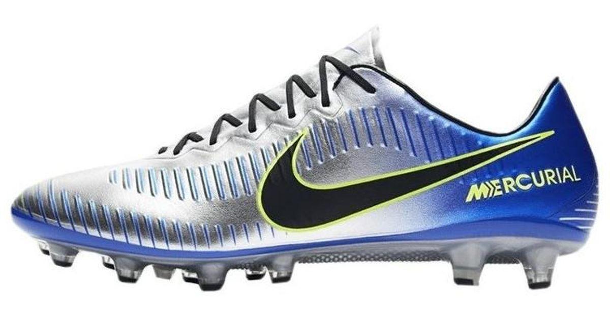 finest selection d057f 371e4 Nike Mercurial Vapor Xi Njr Agpro Puro Fenomeno Men s Football Boots In  Blue in Blue for Men - Lyst