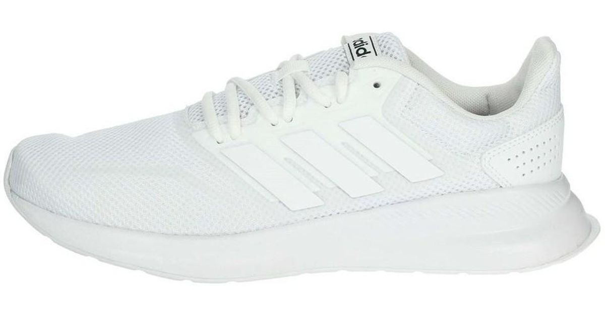 size 40 1e6aa 50d33 adidas Runfalcon Men s Shoes (trainers) In White in White for Men - Lyst