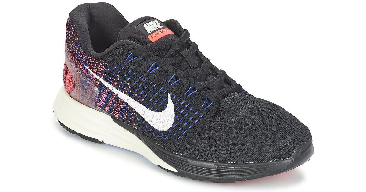 c31eaa1554d5 Nike Lunarglide 7 W Women s Running Trainers In Black in Black - Lyst