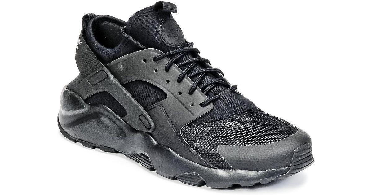 on sale 0b3cc faff2 Nike Air Huarache Run Ultra Men s Shoes (trainers) In Black in Black for Men  - Lyst