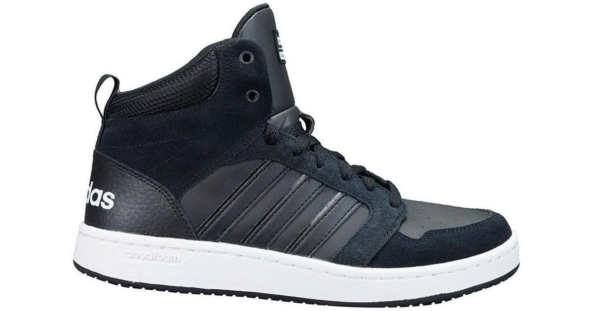 adidas Cf Super Hoops Mid Men s Shoes (high-top Trainers) In Black in Black  for Men - Lyst 31b3256954