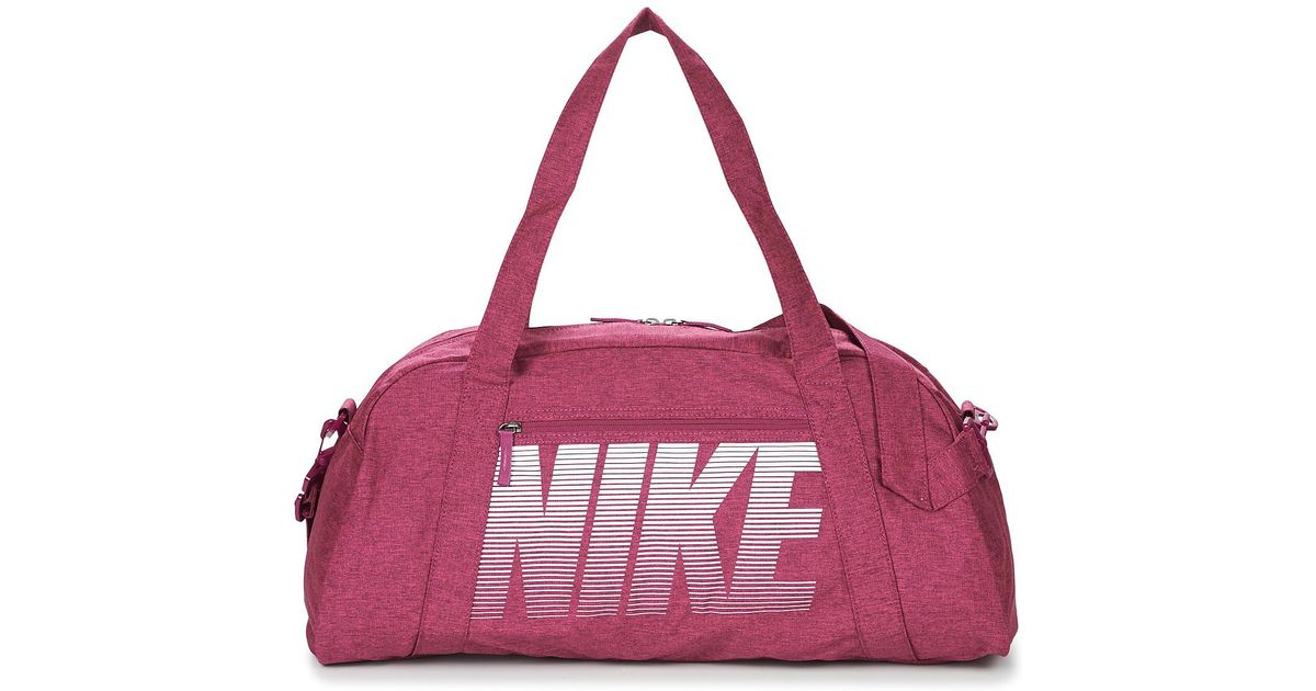 af33fa830a8223 Nike Gym Club Women's Sports Bag In Pink in Pink - Lyst
