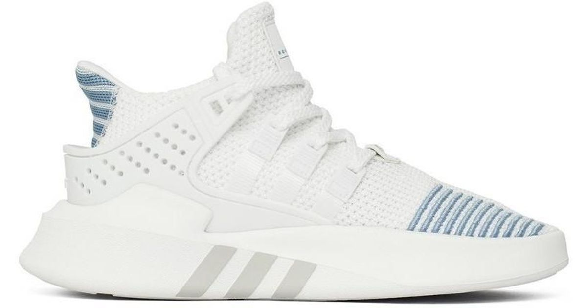 half off d5aaf e5772 Adidas - White Eqt Bask Adv Women Women's Shoes (trainers) In Multicolour -  Lyst