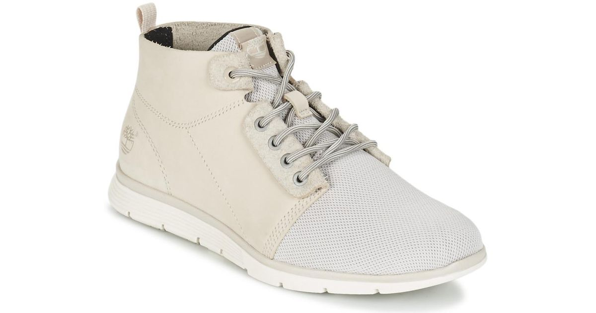 Timberland Killington Chukka Women s Shoes (high-top Trainers) In White in  White - Lyst e82fd4d3b
