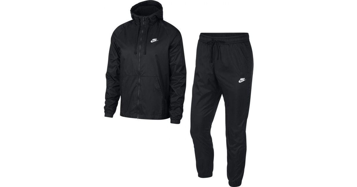 e748e2f317a Lyst - Ensemble de survêtement Sportswear Track Suit - 928119-010 hommes Ensembles  de survêtement en Noir Nike pour homme en coloris Noir