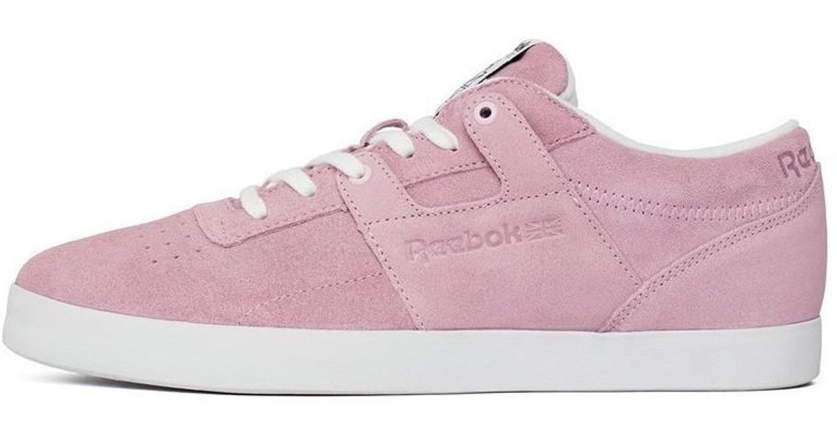 c516b34325f Reebok Workout Clean Fvs Men s Shoes (trainers) In Pink in Pink for Men -  Lyst