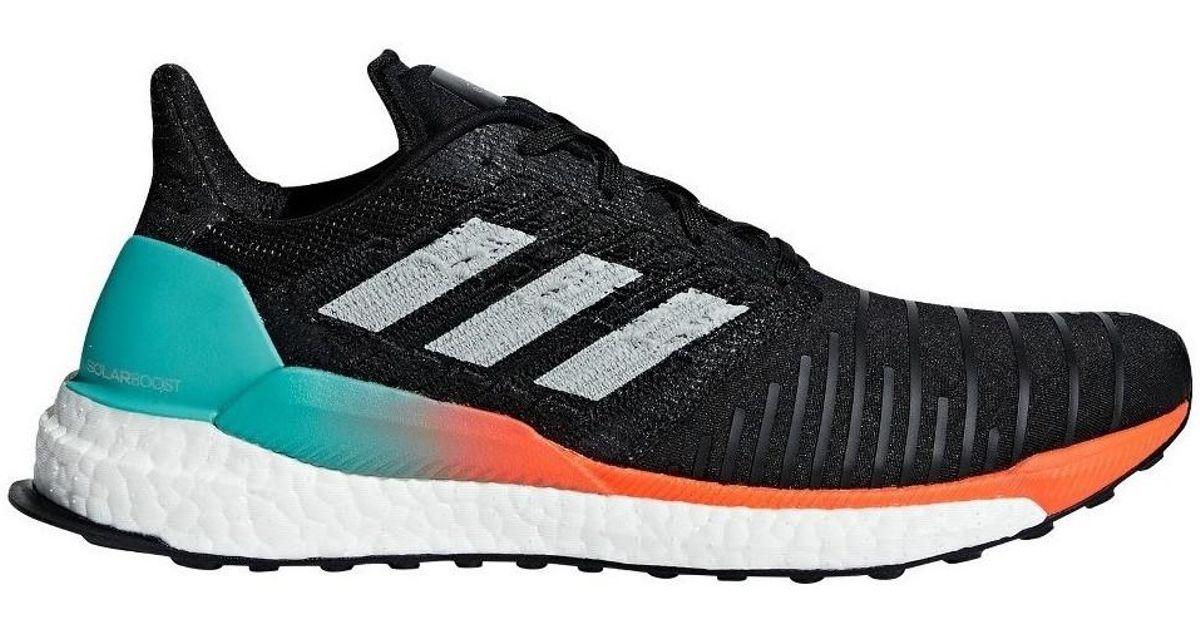 e98de4f7adb45 adidas Solar Boost M Men s Shoes (trainers) In Black in Black for Men - Lyst