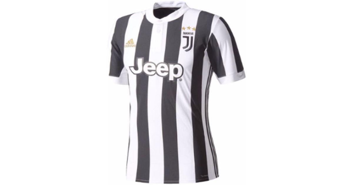 buy popular b0021 98a26 Adidas - 2017-18 Juventus Home Shirt (cuadrado 7) - Kids Men's T Shirt In  White for Men - Lyst