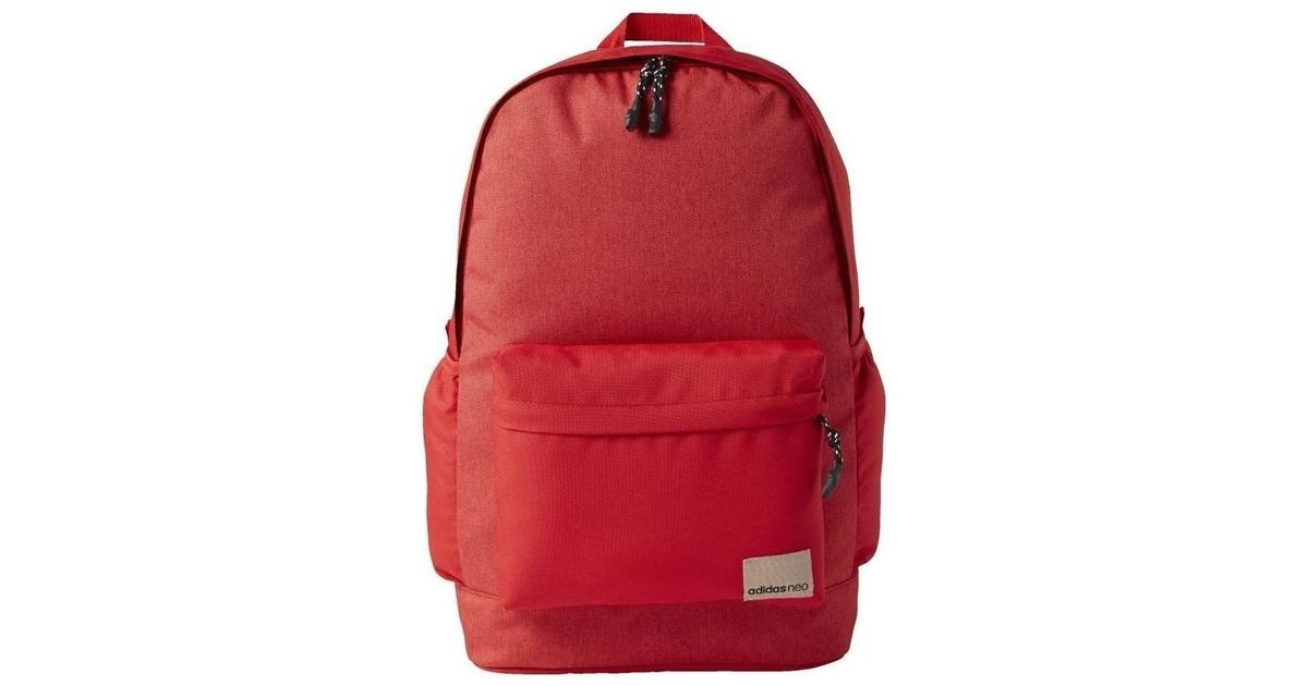 3f7b9a6ff6acd adidas Bp Daily Xl Men's Backpack In Red in Red for Men - Lyst