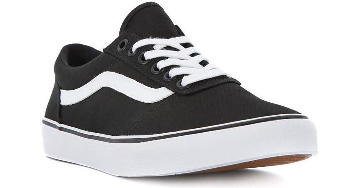 462e72585b18 Vans W Maddie Canvas Women s Shoes (trainers) In Black in Black - Lyst
