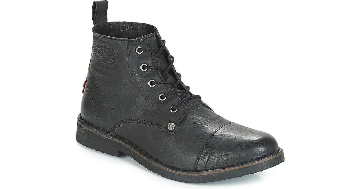 9088e2d453 Noir Pour Coloris En Track Lyst Hommes Levi's Boots Homme OnqAnwHxT