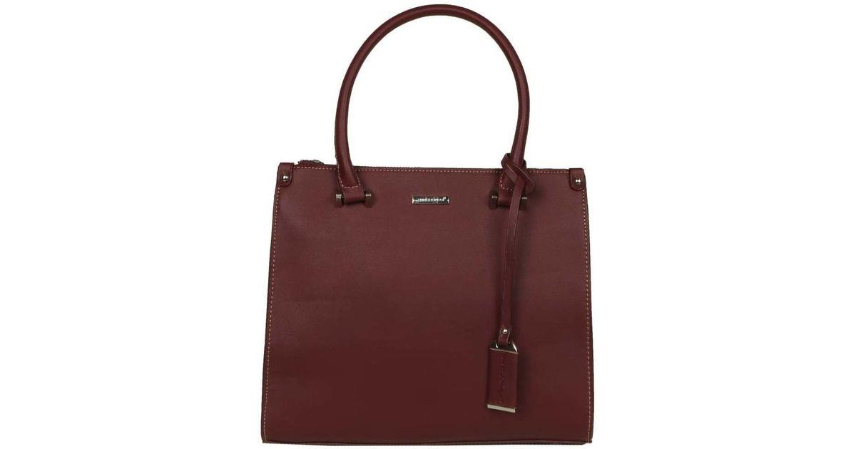 David Jones Montreal Womens Grab Bag Women S Handbags In Red Save 45 Lyst