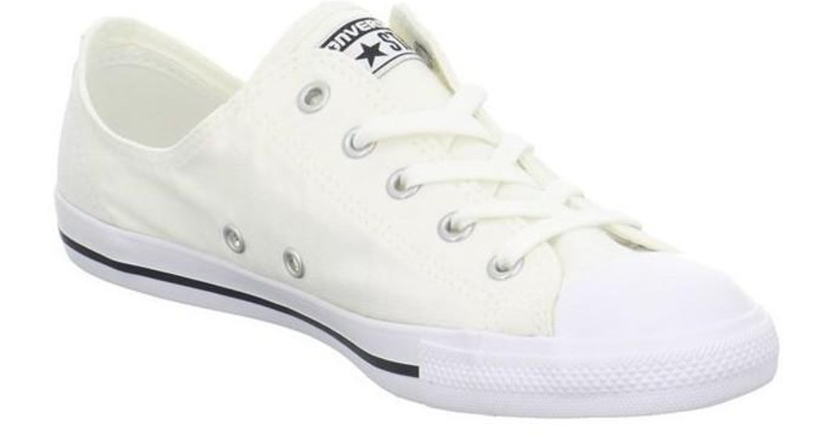 b5158861cae1 Converse Dainty Ox Men s Shoes (trainers) In White in White for Men - Lyst