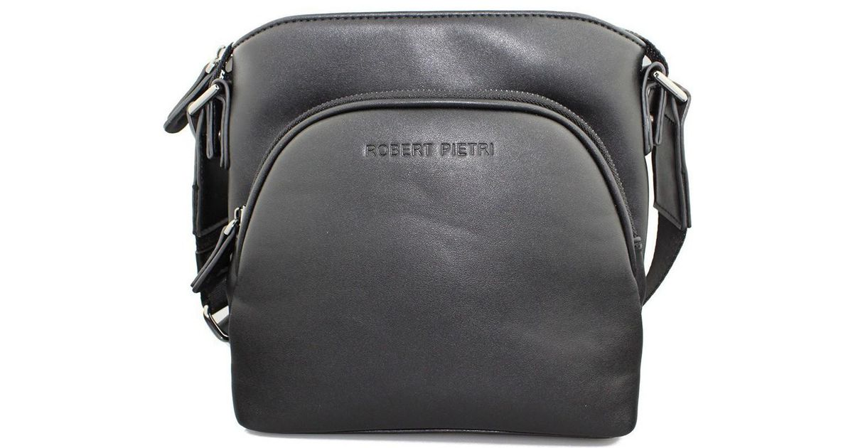 863f954a922b Robert Pietri Executive Bolso Men s Shoulder Bag In Black in Black for Men  - Lyst
