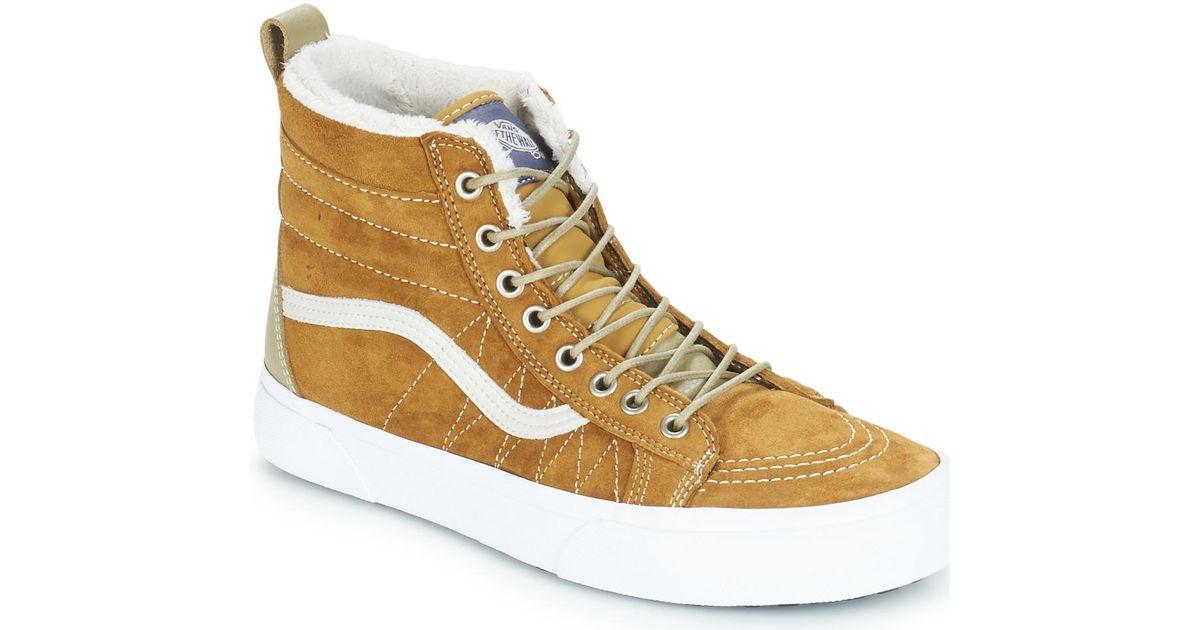 72db305940f8ef Vans Sk8-hi Mte Men s Shoes (high-top Trainers) In Brown in Brown for Men -  Lyst