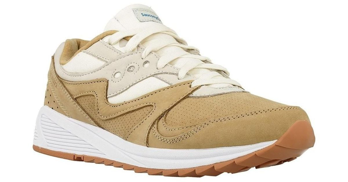 9fe6edc624b0 Saucony Grid 8000 Tanlt Tan Men s Shoes (trainers) In Multicolour for Men -  Lyst