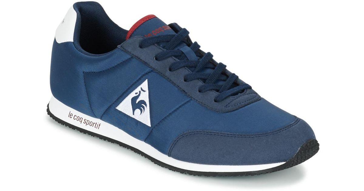 24e7fda57ccc Le Coq Sportif Racerone Nylon Men s Shoes (trainers) In Blue in Blue for  Men - Lyst