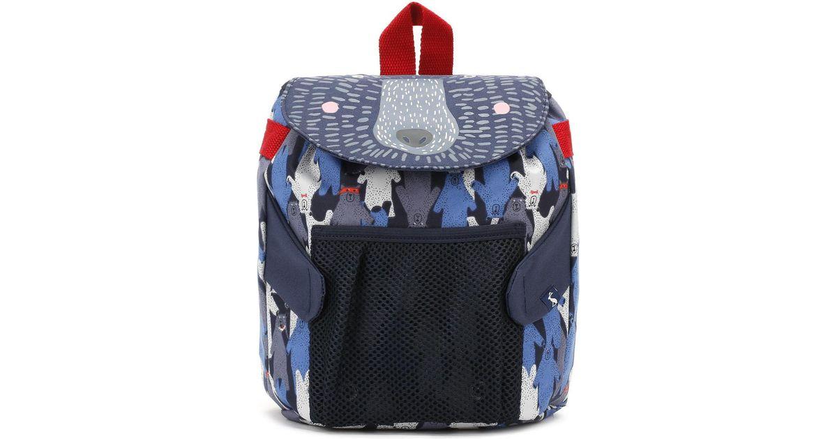 Joules Black Multi Bear Camo Buddie Bag Boys s Children s Backpack In Black  in Black for Men - Lyst c62832579c724
