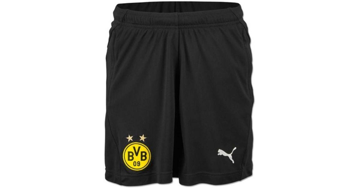 b543896031 PUMA 2018-2019 Borussia Dortmund Training Shorts Women's Shorts In Black in  Black - Lyst