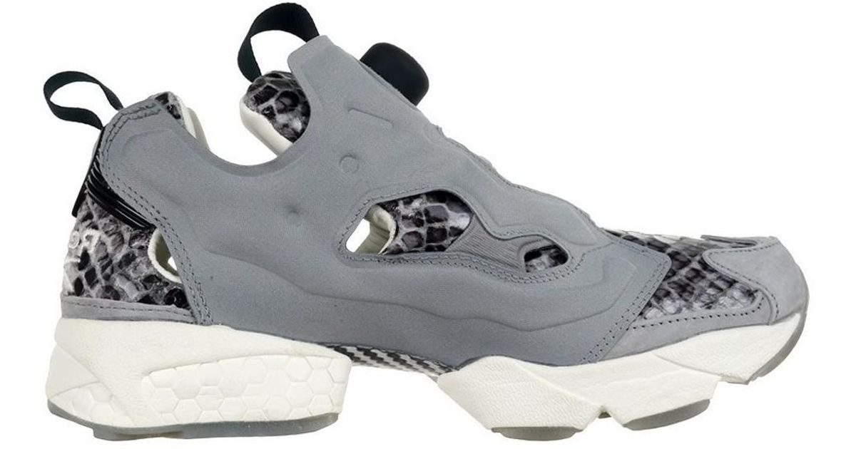 357c164c Reebok Classic Instapump Fury Disney Jungle Book Women's Shoes (trainers)  In Black in Black - Lyst