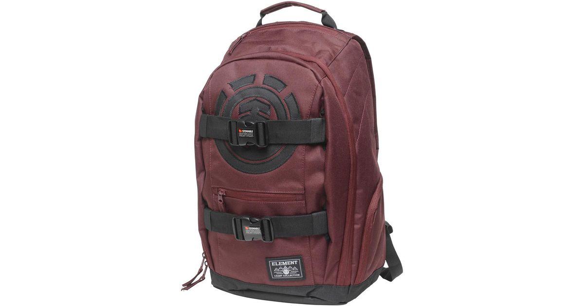 2c6536af6d16 Element Mohave Backpack - Napa Red Men s Backpack In Red in Red for Men -  Lyst